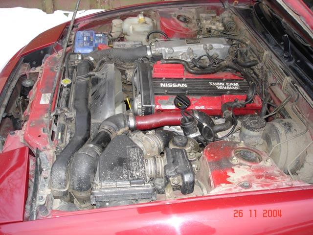 CA18DET под капотом S13