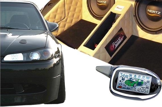 Установка доп оборудования в авто